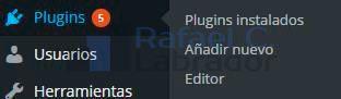 Plugin Configuración Google Analytics en WordPress