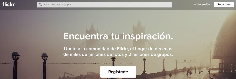 Banco de imágenes Flickr
