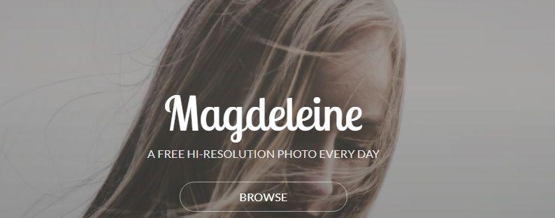 Banco de imágenes Magdeleine