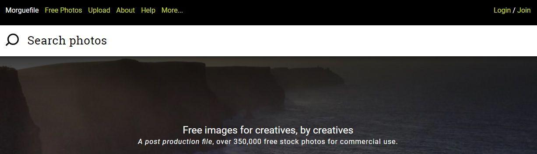 Banco de imágenes gratis Morguefile