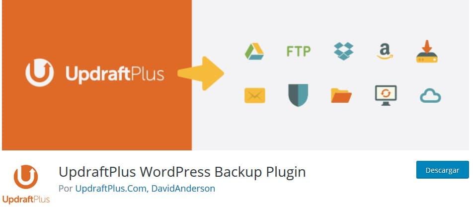 UpdraftPlus Plugin Backup WordPress