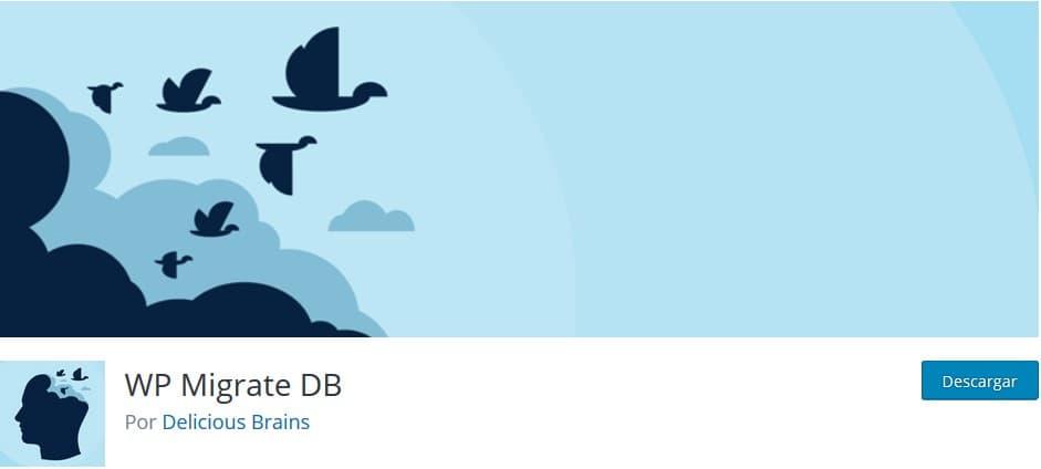 WP Migrate DB Plugin Backup WordPress