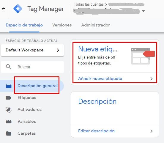 GTM Nueva Etiqueta