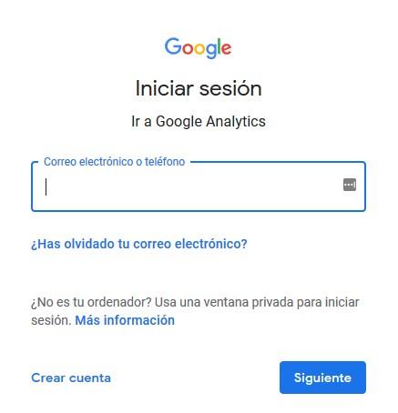 Inicio de sesión con Google
