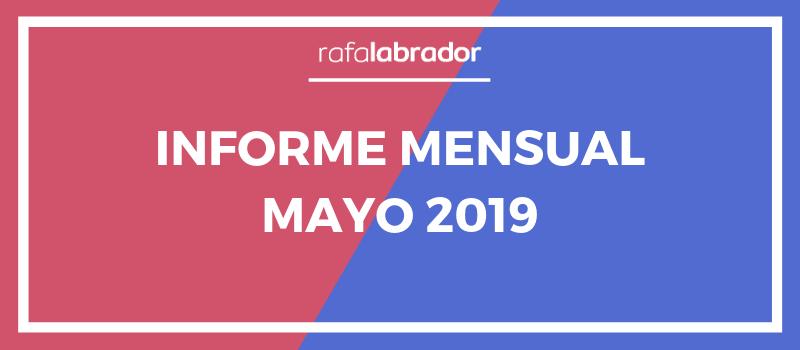 Informe mensual mayo 2019