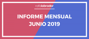 Informe mensual junio 2019