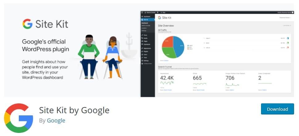 Site Kit plugin WordPress