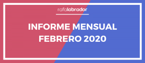 Informe mensual febrero 2020