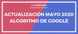 Google Update: Mayo 2020