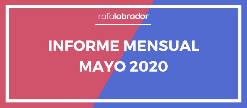 Informe mensual mayo 2020
