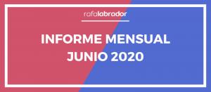 Informe mensual junio 2020