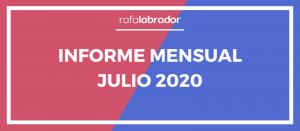 Informe mensual julio 2020