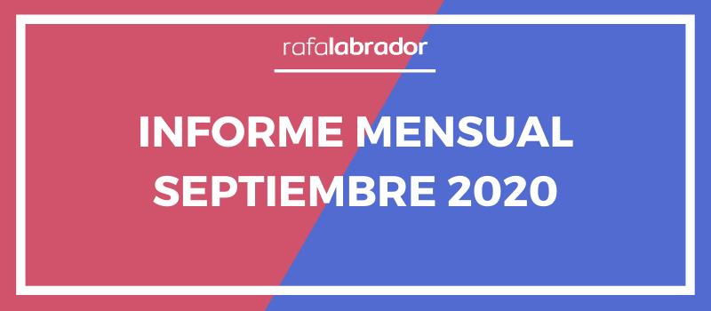 Informe mensual septiembre 2020