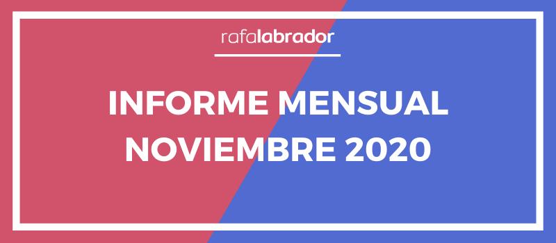 Informe mensual noviembre 2020