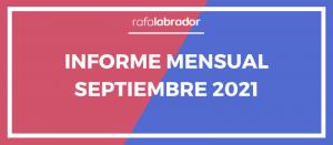 Informe mensual septiembre 2021